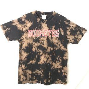 Ohio State Buckeyes custom tiedye T-shirt